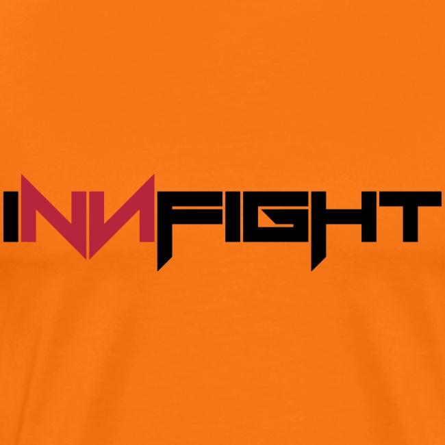 Innfight logo redblack