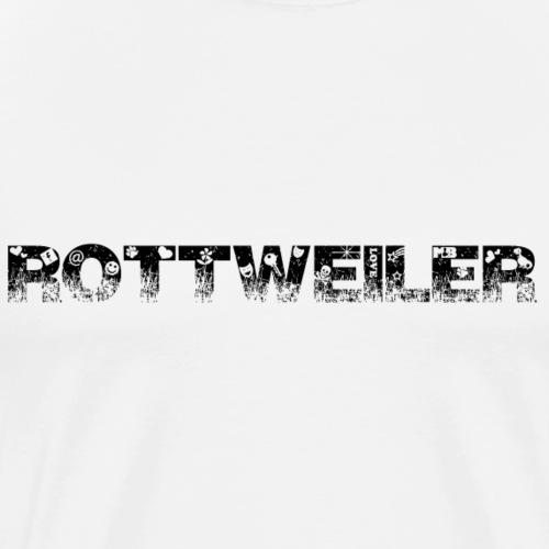 Rottweiler Outside - Mannen Premium T-shirt