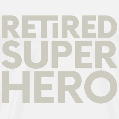 retired superhero - Men's Premium T-Shirt