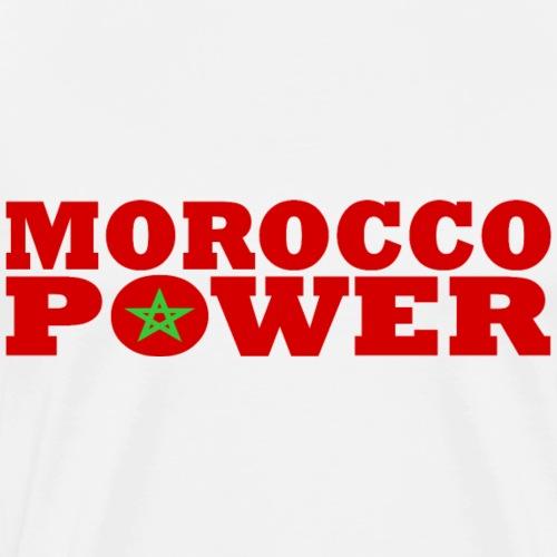 Maroc - Marokko - Morocco Power - Männer Premium T-Shirt