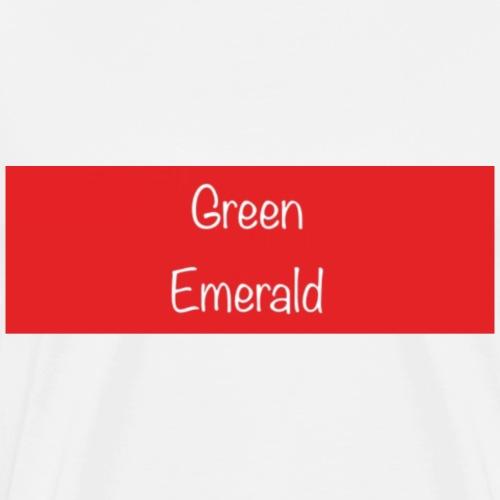 Green Emerald suprememe - Men's Premium T-Shirt
