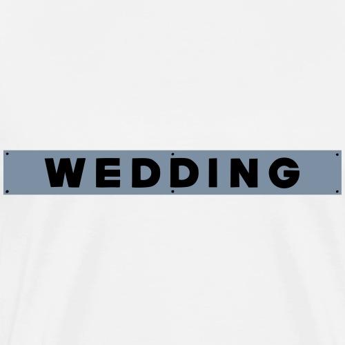WEDDING Berlin - Koszulka męska Premium