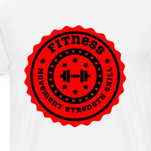 Logo Fitness - T-shirt Premium Homme