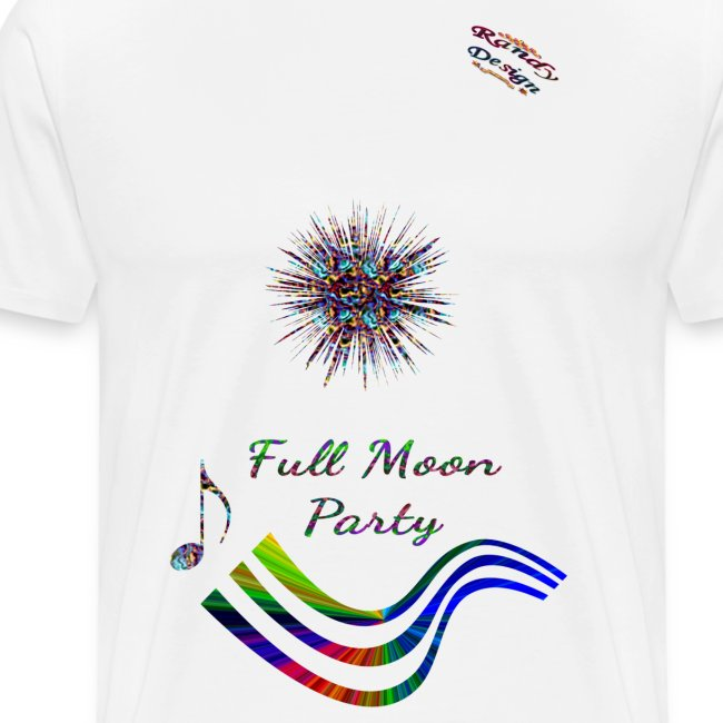Full Moon Party Shirts Randy Design