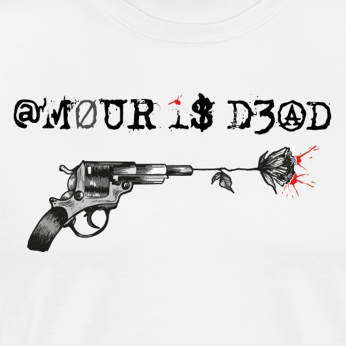 @mour is dead - T-shirt Premium Homme