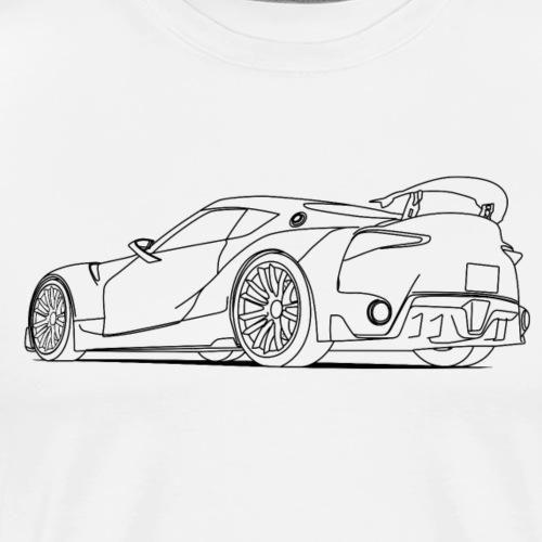 Sports Car - Men's Premium T-Shirt