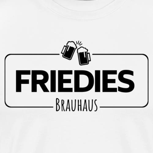 Friedies Brauhaus Logo - schwarz - Männer Premium T-Shirt