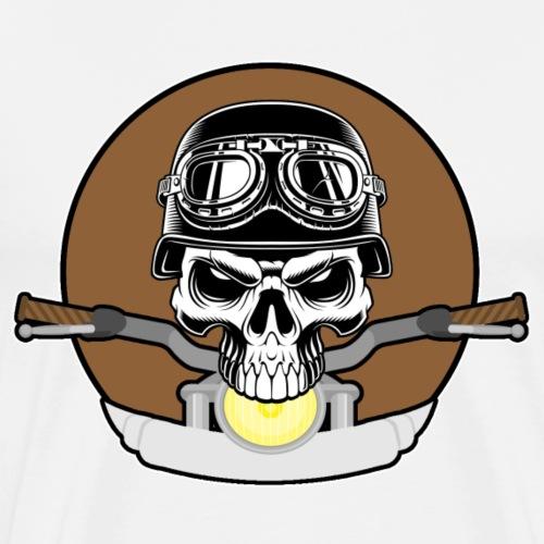 rider skull2 - Männer Premium T-Shirt