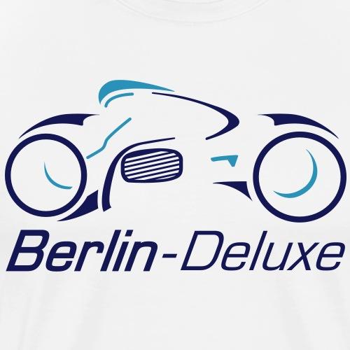 Berlin Deluxe Motorrad - Männer Premium T-Shirt