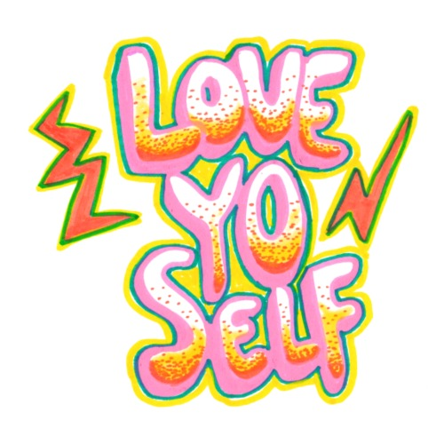 LOVE YO' SELF - Premium-T-shirt herr