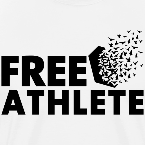 Free Athlete Freedom - Männer Premium T-Shirt