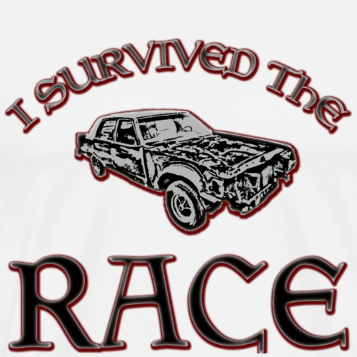 I SURVIVED THE RACE - Männer Premium T-Shirt