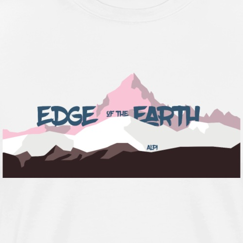The_Edge_of_the_Earth - Maglietta Premium da uomo