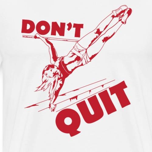 Calisthenics Training Fitness Klimmzug - Männer Premium T-Shirt