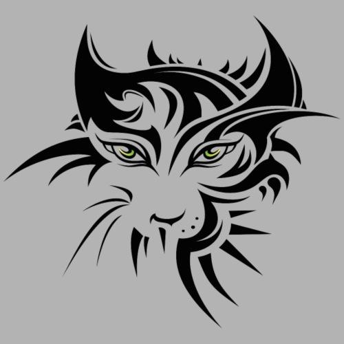 Tribal Katze - Männer Premium T-Shirt