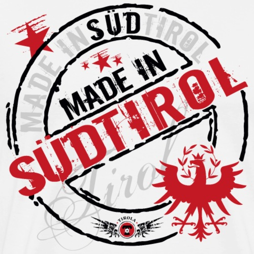 Made in Südtirol schwarz - Männer Premium T-Shirt