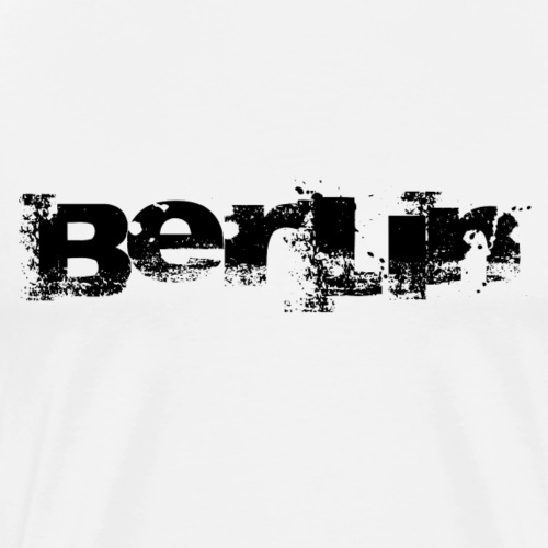 Berlin logo - Men's Premium T-Shirt