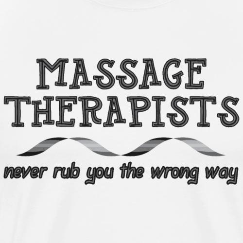 Massage Therapists Ribbon - Men's Premium T-Shirt