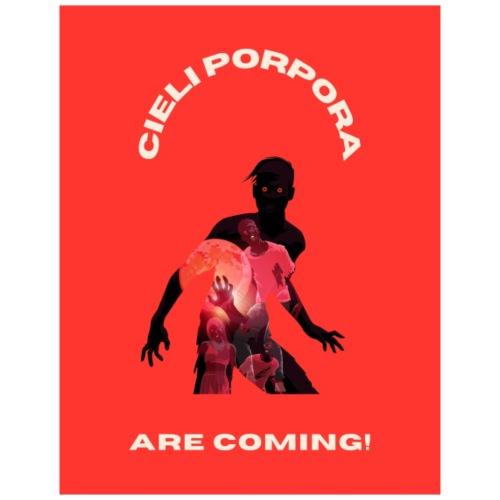 Cieli Porpora are coming! - Maglietta Premium da uomo