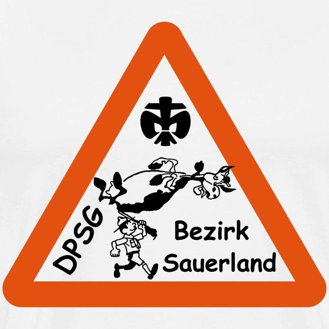Logo Bezirk Sauerland mit Rahmen