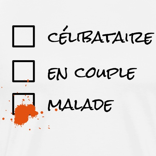Malade - T-shirt Premium Homme