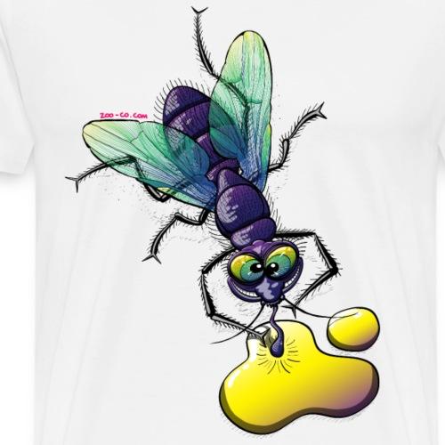 Naughty Smiling Fly - Men's Premium T-Shirt