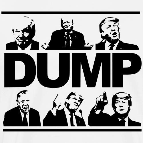 DUMP-TRUMP - Männer Premium T-Shirt