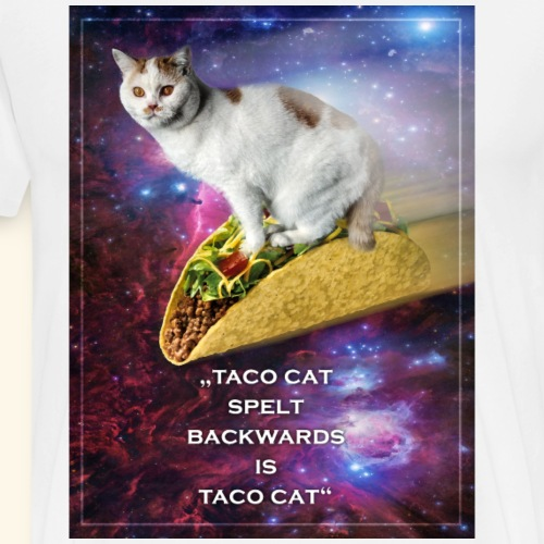 Taco Cat - Männer Premium T-Shirt