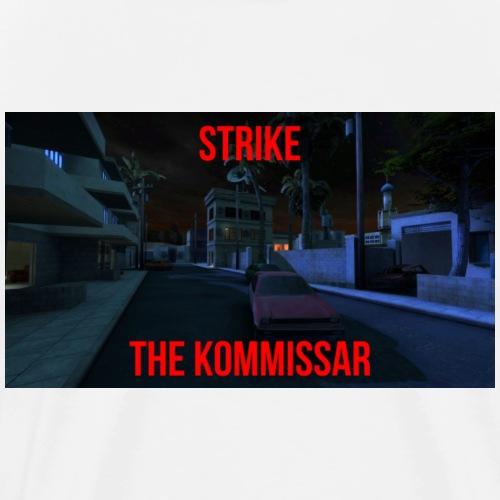 strike text jpg - Men's Premium T-Shirt