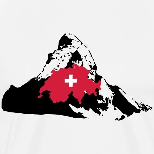 Schweiz / Matterhorn - Männer Premium T-Shirt