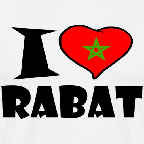 Rabat - Ich liebe Rabat - I love Rabat - Männer Premium T-Shirt