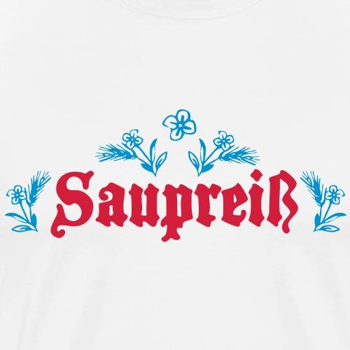 Saupreiß - Männer Premium T-Shirt