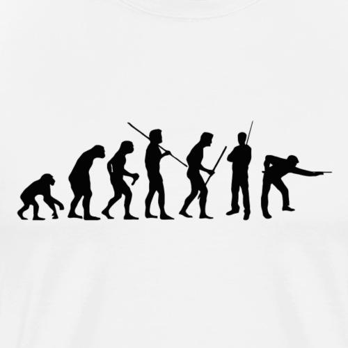 snooker evolution 147 - Männer Premium T-Shirt