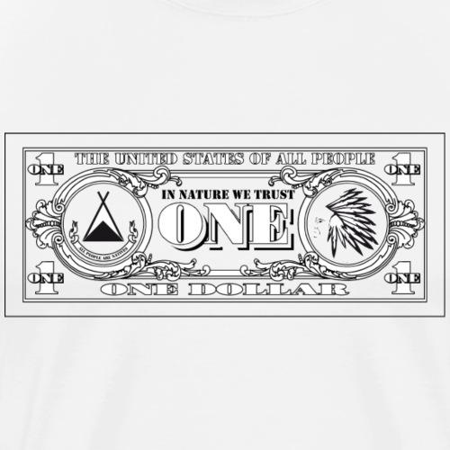 DOLLAR - T-shirt Premium Homme