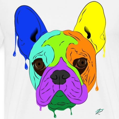 French Bulldog - Maglietta Premium da uomo