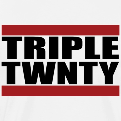 Run TripleTwenty - Light - Männer Premium T-Shirt