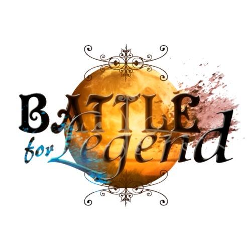 Logo Battle for Legend. - T-shirt Premium Homme