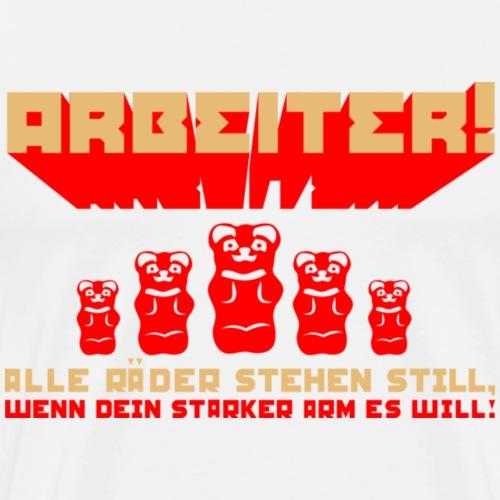 Roter Oktobär - Männer Premium T-Shirt