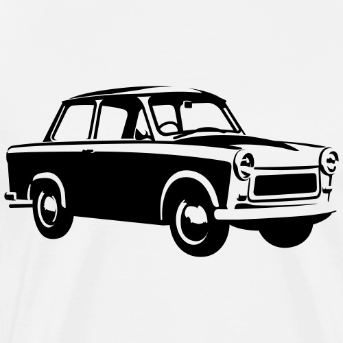 Trabant 601 Coupé - Men's Premium T-Shirt