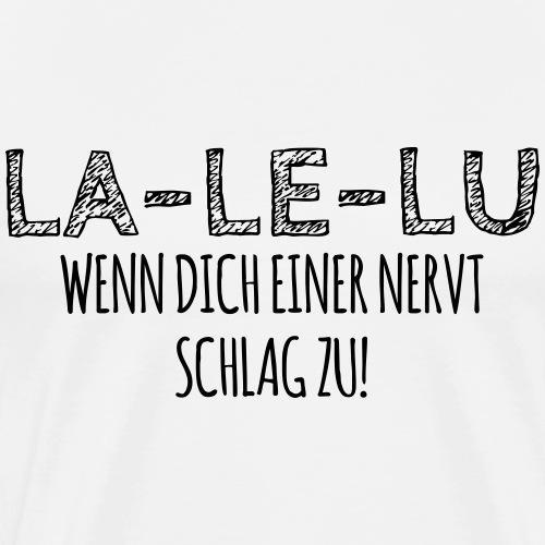 Schlagen - Männer Premium T-Shirt