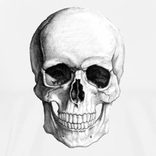 HEAD SCULL - Premium T-skjorte for menn