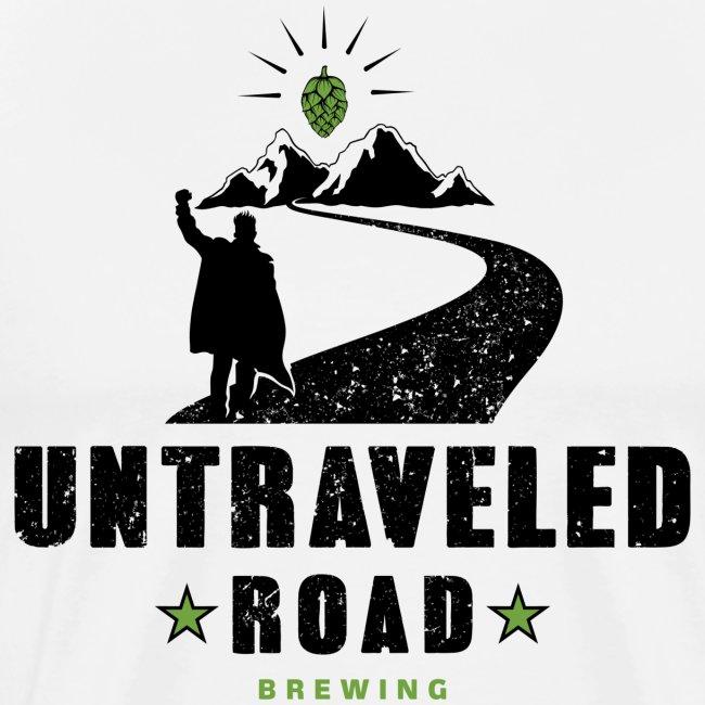 Untraveled Road Logo - schwarz/grün