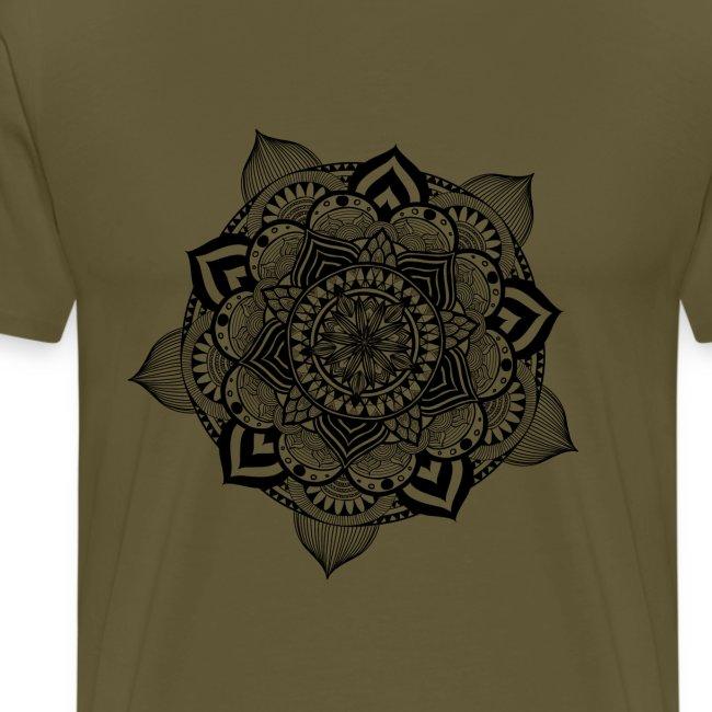 mandala fiore di loto