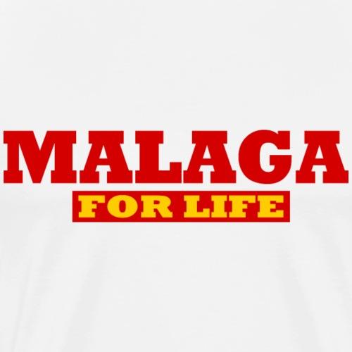 Malaga fürs leben - Malaga For life - Männer Premium T-Shirt