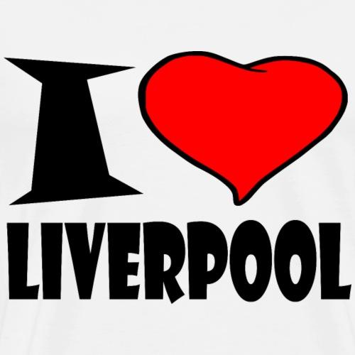Liverpool - I love Liverpool - Männer Premium T-Shirt