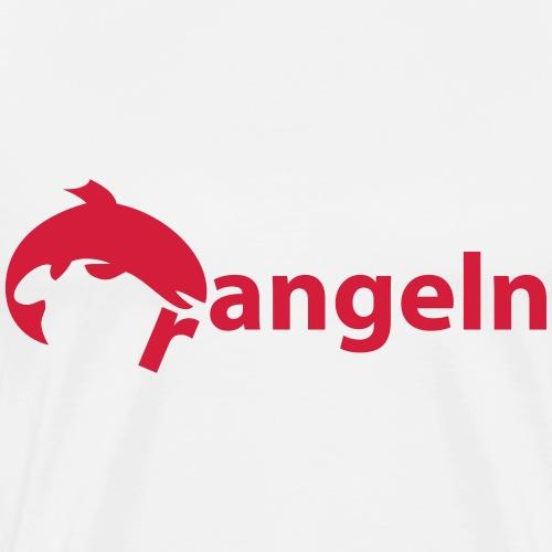 rangeln - angeln - Männer Premium T-Shirt