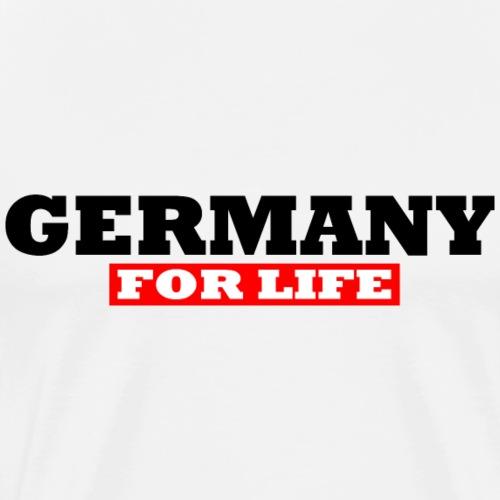 Deutschland fürs leben - Männer Premium T-Shirt