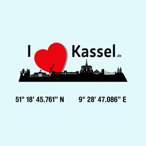 I LOVE KASSEL - Männer Premium T-Shirt