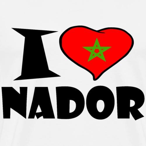 Nador - I love Nador - Ich Liebe Nador - Männer Premium T-Shirt