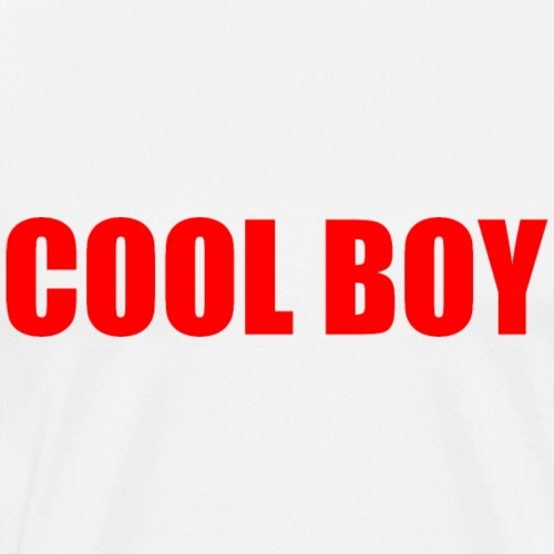 Cool boy - Men's Premium T-Shirt